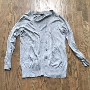 XXi Button Front Cardigan Grey